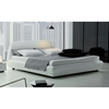 Downtown Modern White Platform Bed