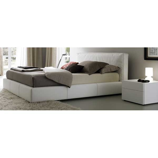 Touch Bed With Nightstands in White - ROS-T411603345A01-3S