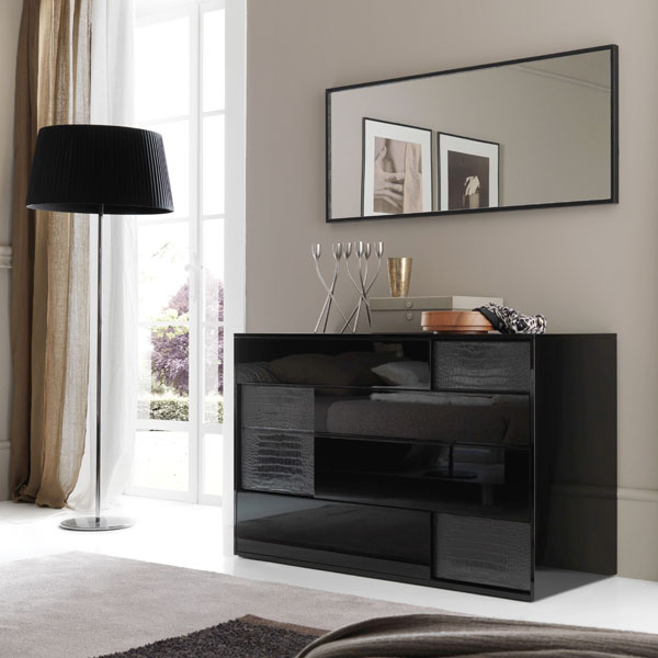Nightfly Dresser with Mirror