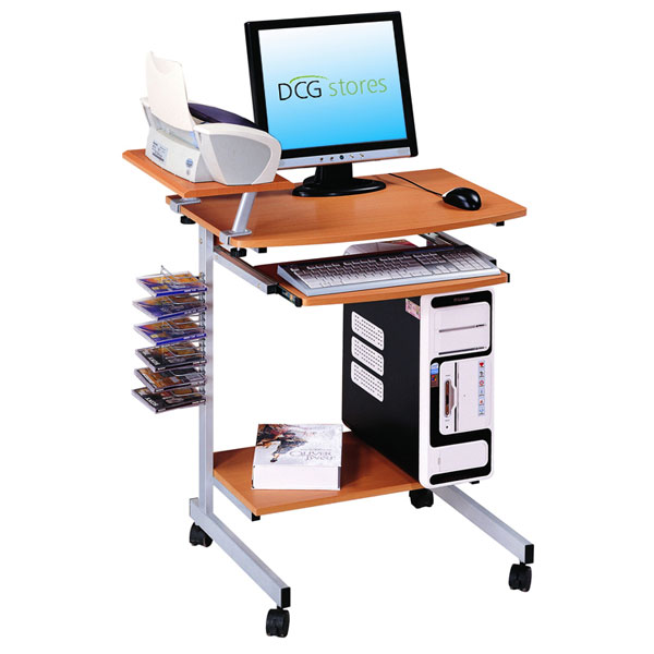 Computer Desk with Keyboard Tray - RTA-2018