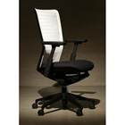 Medium Back White Molded Cool Mesh Chair