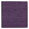 Avenue - Plum Purple & White Rug