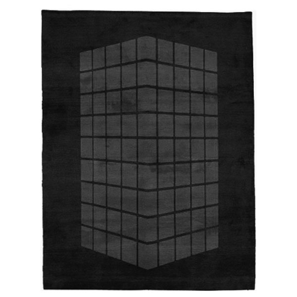 Cassady - Black & Grey Rug