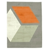 Cubizzmo No.3- Beige & Orange Rug