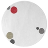 Havana Dots - White & Mixed colors 3 Rug
