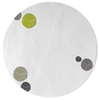 Havana Dots - White & Mixed colors 5 Rug