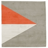 Korsor No.2 - Beige & Orange Rug