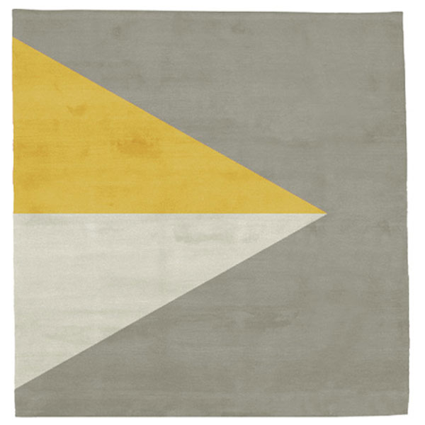 Korsor No.2 - Beige & Yellow Rug