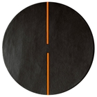 Lightsonic - Charcoal & Orange Rug