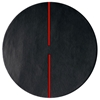 Lightsonic - Charcoal & Red Rug