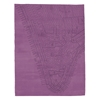 Lower Manhattan - Argyle Purple Rug