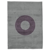 Oh - Grey & Purple Rug