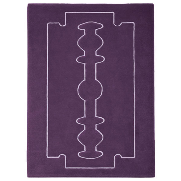 Razor - Crown Purple Rug