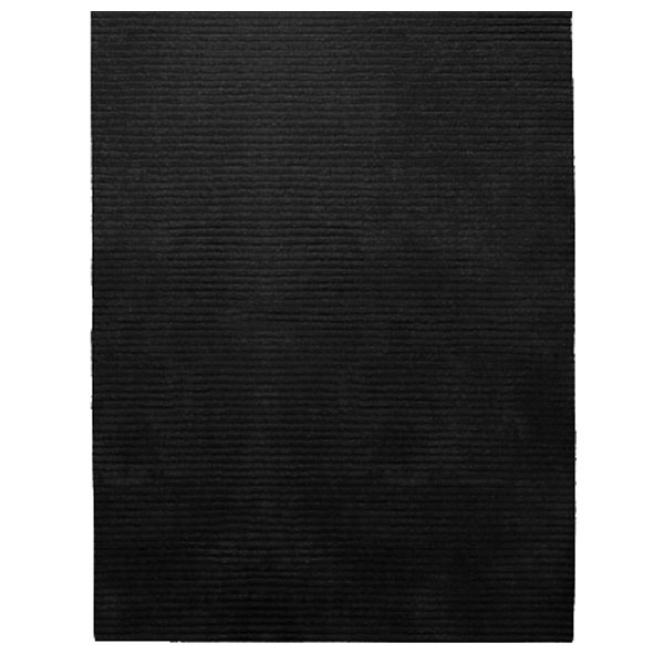 Rectangle Samba Contigo - Black Rug