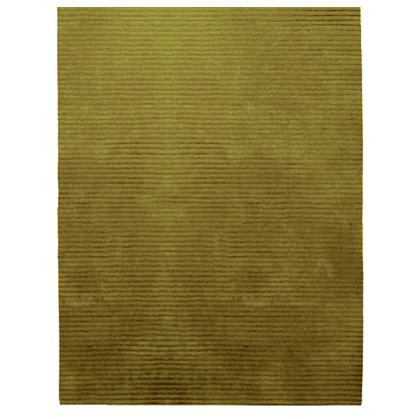 Rectangle Samba Contigo - Golden Olive Rug