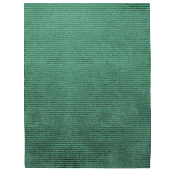 Rectangle Samba Contigo - Soft Turquoise Rug
