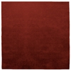 Square Samba Contigo - Wine Red Rug