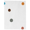 Santa Clara Dots - White & mixed colors 2 Rug