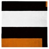 Square Soul Icheon - Black, White & Orange Rug