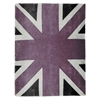 Union Jack - Vintage Lilac, White & Dark Grey Rug