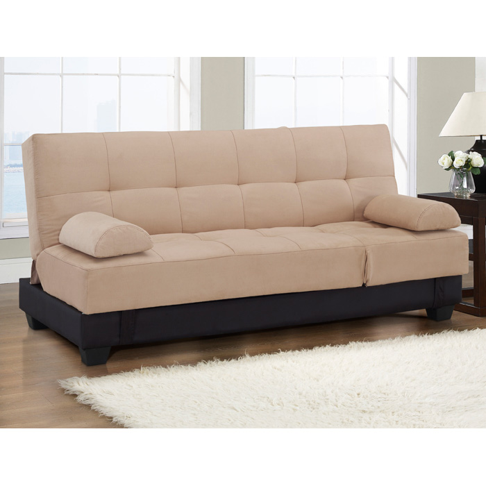 Harvard Storage Convertible Sofa in Two Tone - LSS-SCHVDS3M2KH