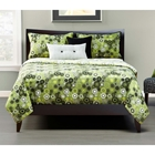 Going Green Contemporary Bedding Set