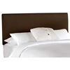 Caelum Headboard - Linen Slipcover, Chocolate
