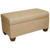 Sagittarius Upholstered Storage Bench - Twill, Khaki