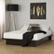 Step One Platform Bed - Mattress, Chocolate - SS-10015-CR