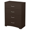 Step One Chest - 4 Drawers, Chocolate - SS-10068