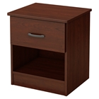 Libra Nightstand - 1 Drawer, Royal Cherry
