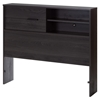 Fynn Twin Headboard - Storage, Gray Oak