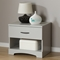 Step One Nightstand - 1 Drawer, Soft Gray - SS-10107