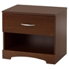 Step One Nightstand - 1 Drawer, Sumptuous Cherry