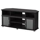 City Life Corner TV Stand - Gray Oak