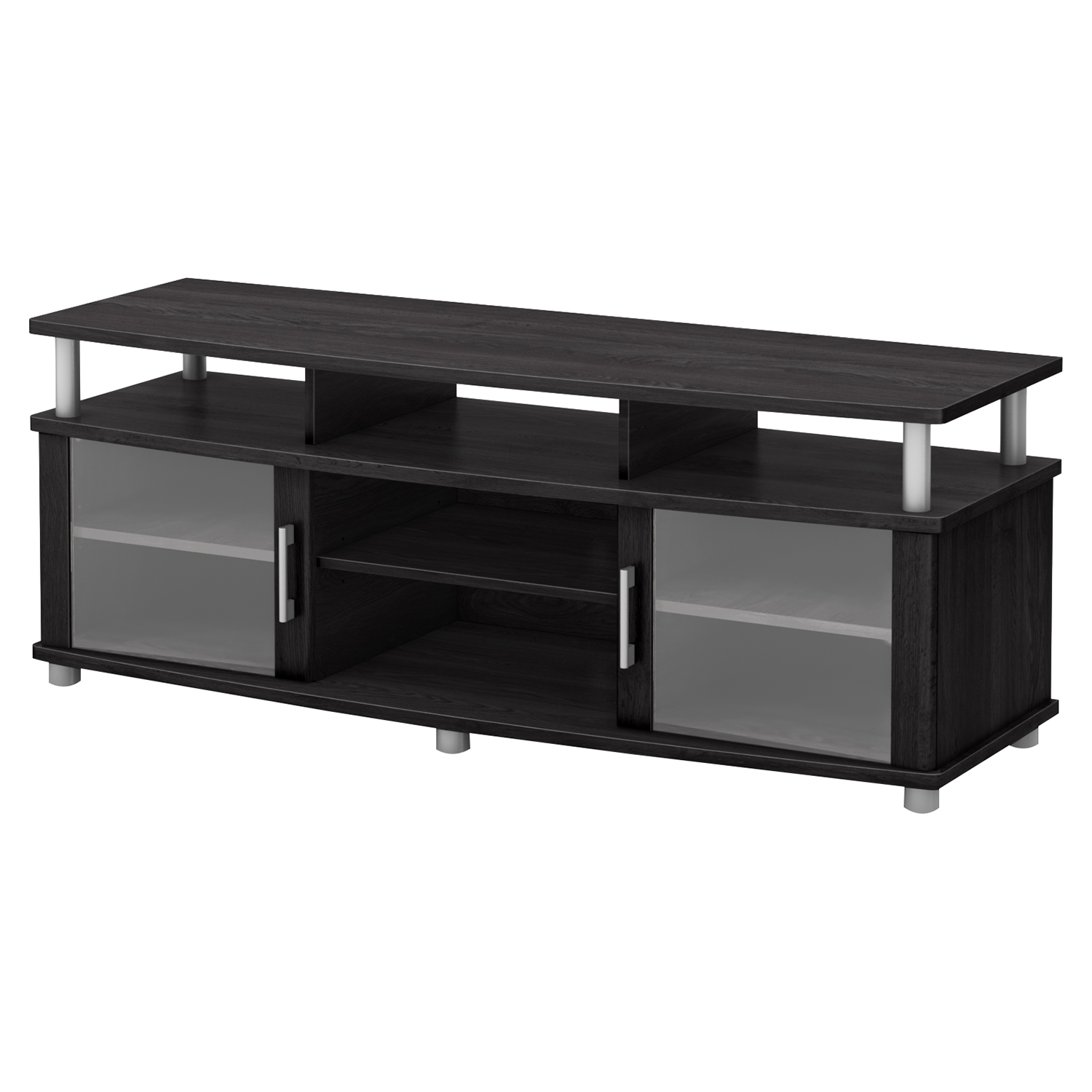 City Life TV Stand - Gray Oak