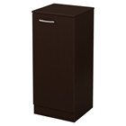 Axess Narrow Storage Cabinet - Chocolate