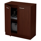Axess Storage Cabinet - 2 Doors, Royal Cherry