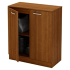 Axess Storage Cabinet - 2 Doors, Morgan Cherry