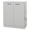 Axess Storage Cabinet - 2 Doors, Soft Gray - SS-10194