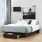 Holland Full/Queen Platform Bed - 1 Drawer, Havana - SS-10403