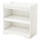 Peek-a-boo Changing Table - Pure White