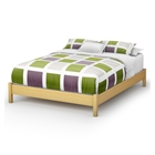 Step One Platform Bed in Natural Maple