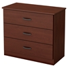 Libra Chest - 3 Drawers, Royal Cherry