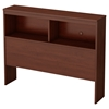Libra Twin Bookcase Headboard - Royal Cherry