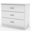 Libra 3-Drawer Chest in White