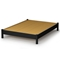 Step One Black Platform Bed with Nightstands - SS-3070-3PC