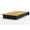 Libra Low Profile Twin Platform Bed in Black - SS-3070235