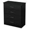 Libra Chest - 4 Drawers, Pure Black - SS-3070034