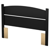 Libra Full Headboard - Pure Black